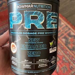 Bowmar preworkout